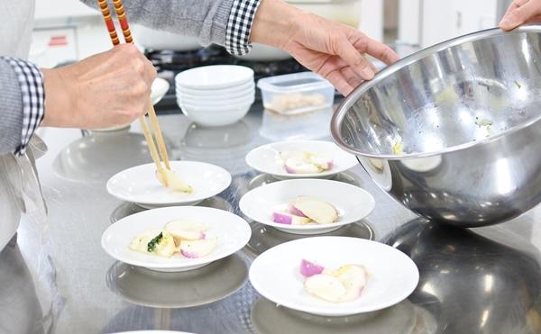蕪と白菜の味醂マリネ2