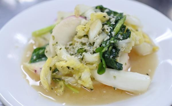 蕪と白菜の味醂マリネ1