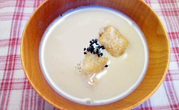 大福豆のおしるこ2