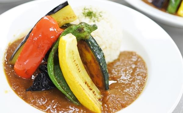 夏野菜のスパイスカレー